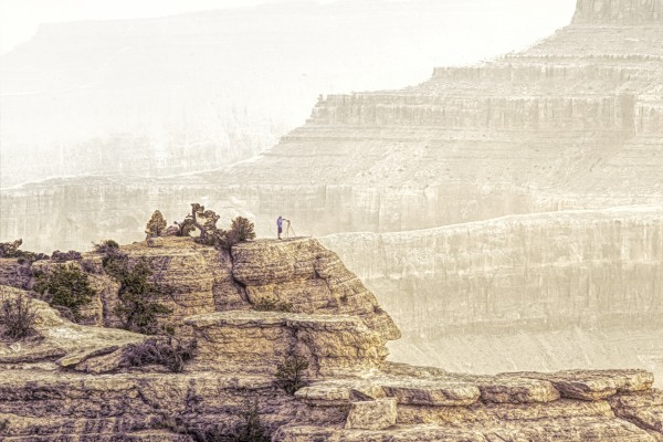 Grand Canyon National Park Tones  by Chuck Kuhn