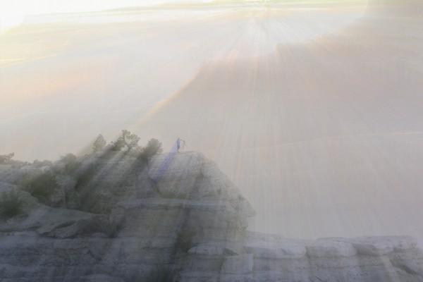 Light Vibrations Grand Canyon  by Chuck Kuhn