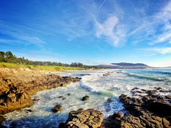 Pebble Beach GC by Clare Kathleen Cornelius