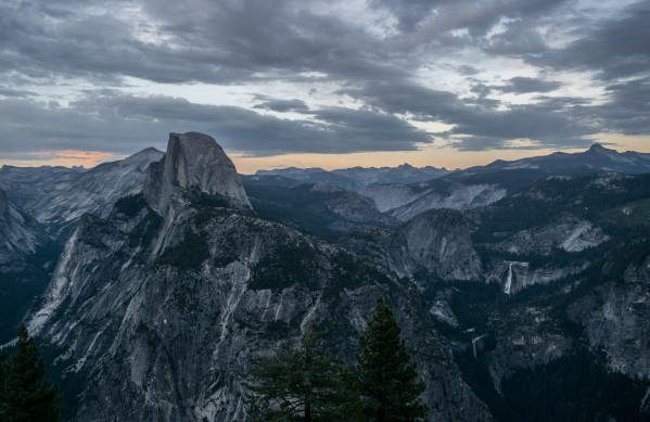 Glacier Point Sunset by Clare Kathleen Cornelius