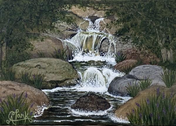 Secret Falls by Clark Fine Art