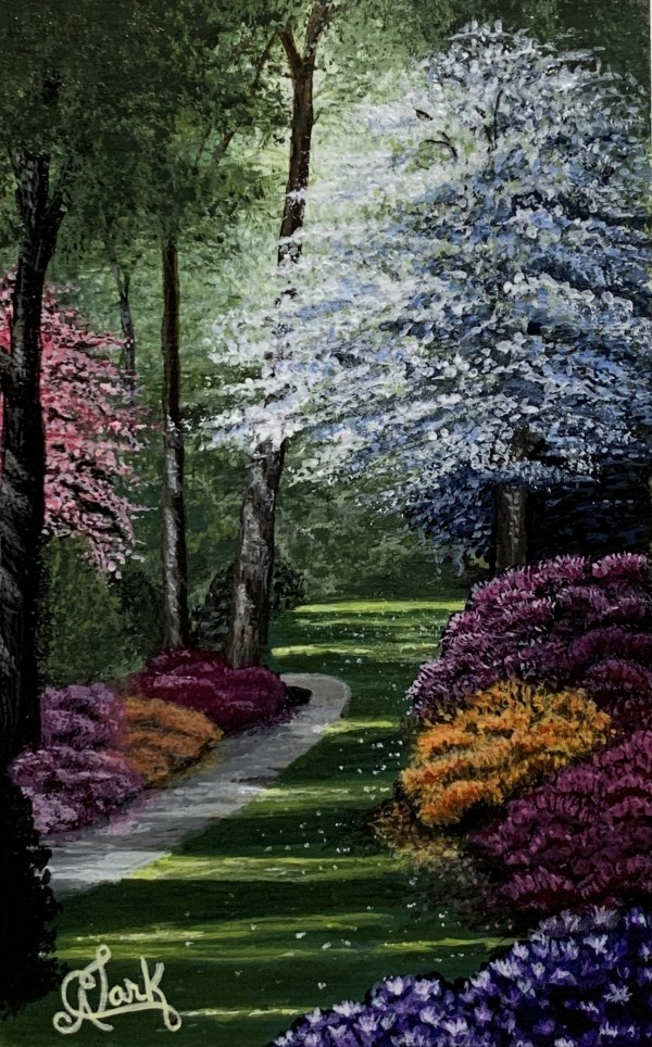 Spring in the Park by Clark Fine Art