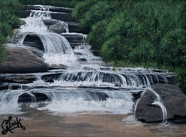 River Falls by Clark Fine Art
