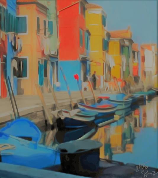 Docked Boats by Clint Hubler