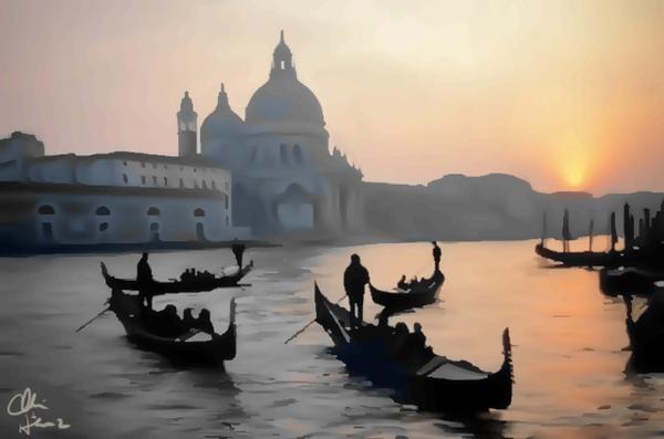 Venice Sunset by Clint Hubler