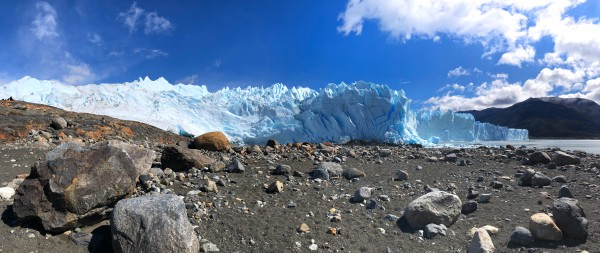 Fractured Ice at the Front of Perito Moreno Glacier by Creative Endeavors - Steven Oscherwitz