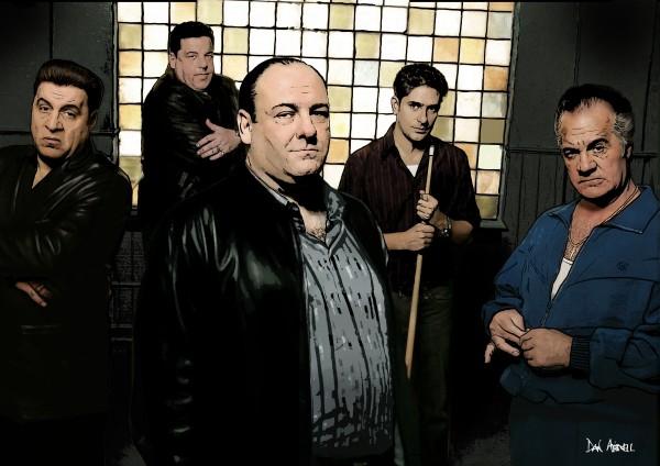 The Sopranos  by Dan  Avenell