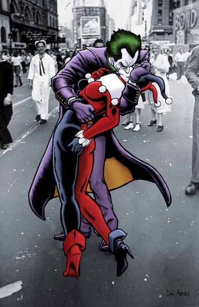 he Joker and Harley Quinn: The Kissing Joke by Dan  Avenell
