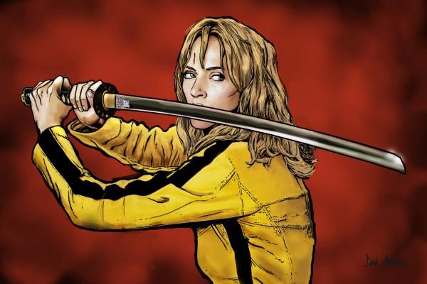 Tarantino: Kill Bill - The Bride by Dan  Avenell