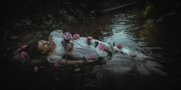 Opheliade by Daniel Thibault artiste-photographe