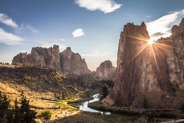 Smith Rock Sunset by Danielle Farrell