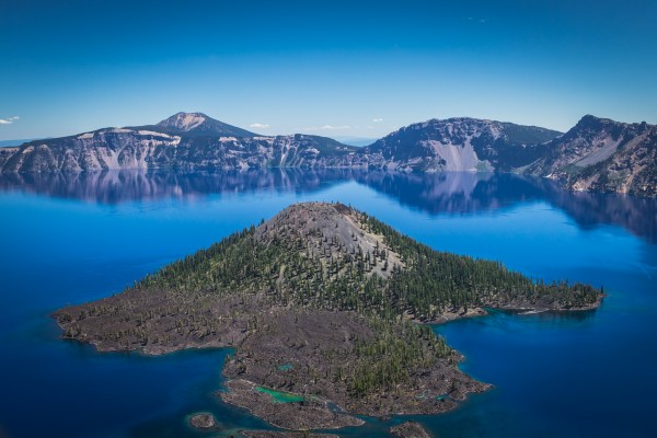 Crater Lake by Danielle Farrell