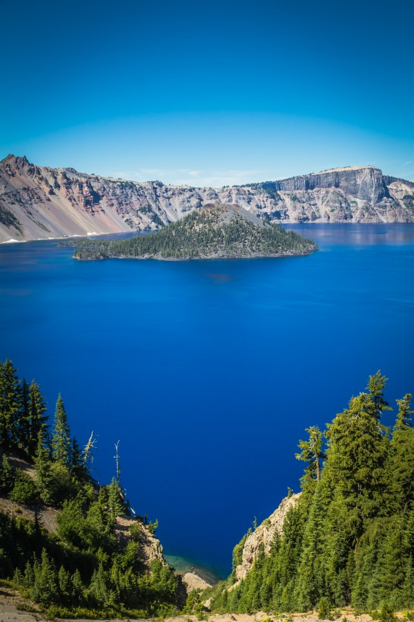 Crater Lake Heart by Danielle Farrell