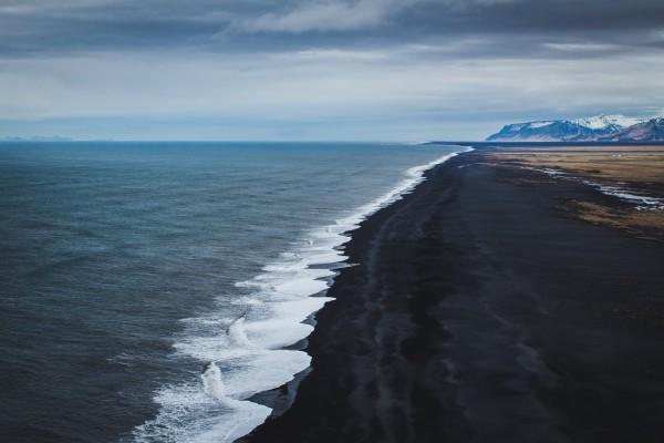 Black Sand Beach by Danielle Farrell