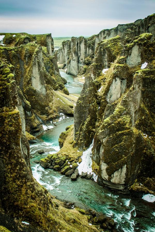 Green Canyon by Danielle Farrell
