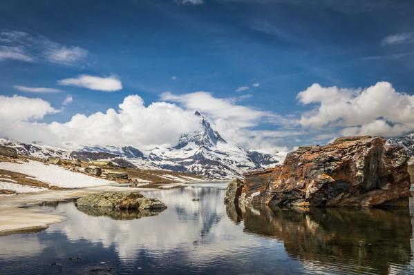 Matterhorn Lake Reflection by Danielle Farrell