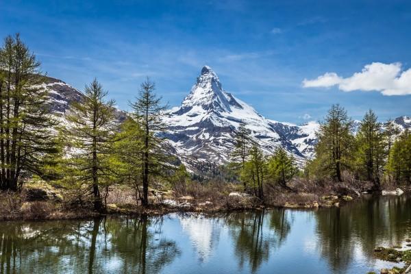Matterhorn Reflection by Danielle Farrell