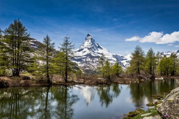 Matterhorn Reflections by Danielle Farrell