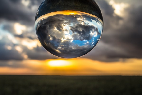 Lens Ball2 by Danielle Farrell