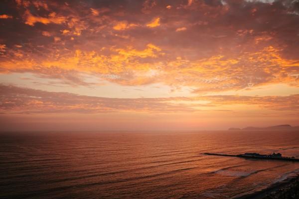 Lima Sunset by Danielle Farrell