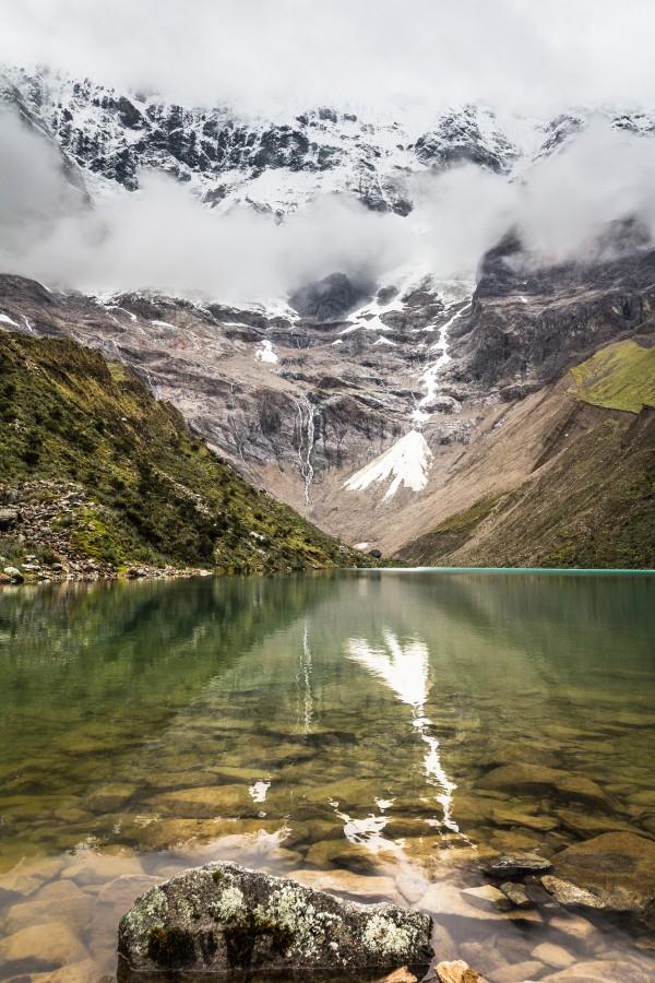 Humantay Lake Portrait by Danielle Farrell