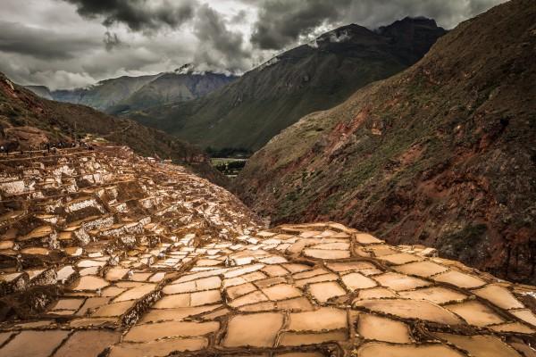Maras Salt Mines by Danielle Farrell