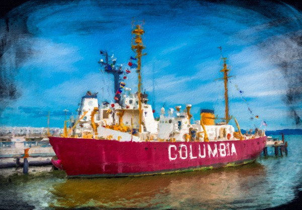 Columbia in Astoria by Darryl Brooks