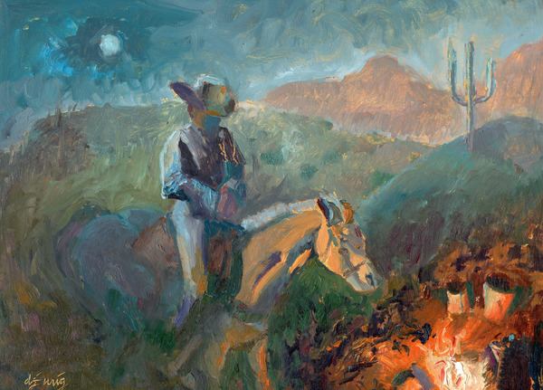 A Cowboys Trusted Friend by Daryl Urig