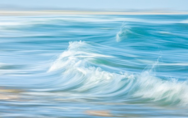 Cresting Wave by Dave Burwell