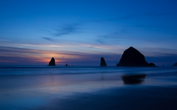 Cannon Beach Sunset by Dave Burwell