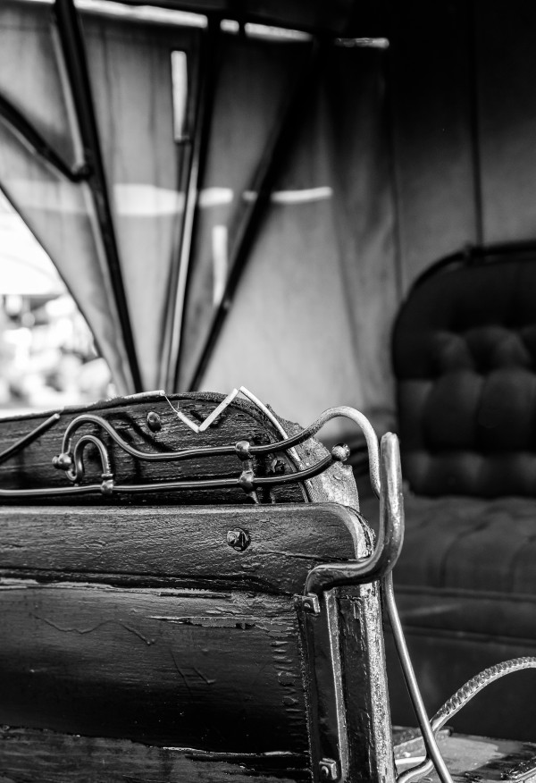 Reverse Buggy Seat by Dave Therrien