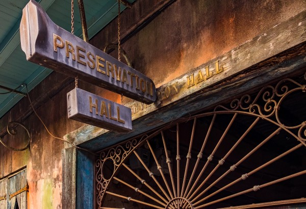 Preservation Hall by Dave Therrien