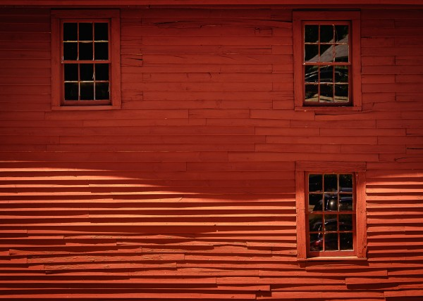 Red House - Harrisville NH by Dave Therrien