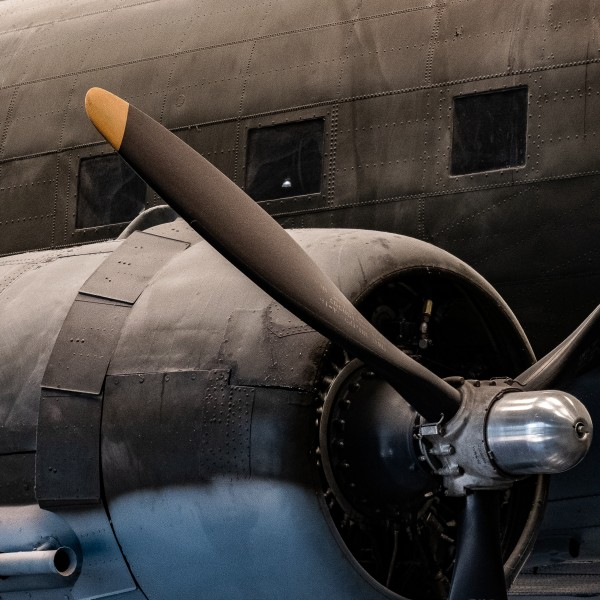 WWII Bomber by Dave Therrien