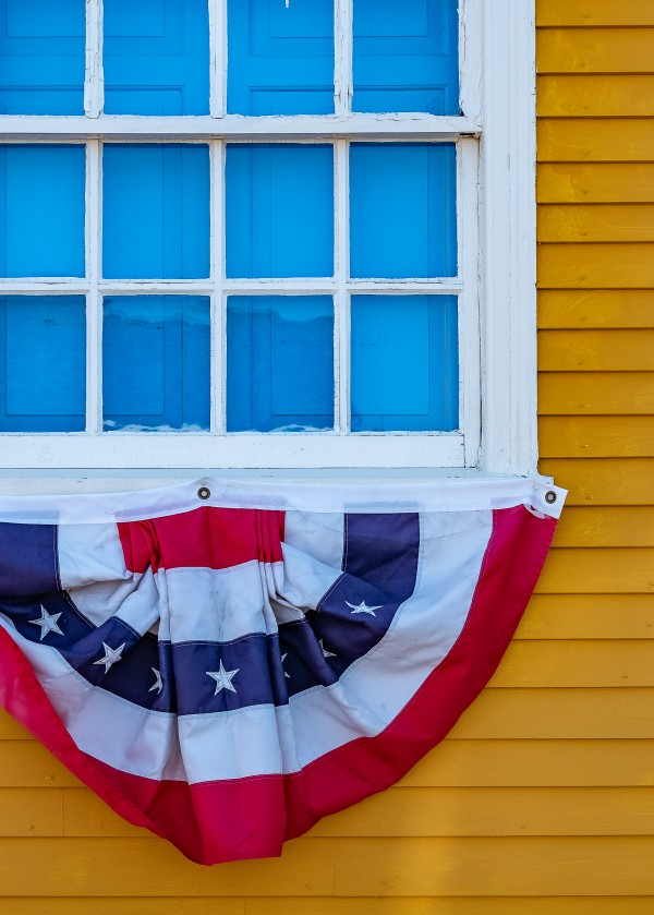 Patriotic Colonial by Dave Therrien