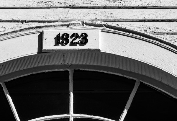 1823 Webster NH Congregational Church by Dave Therrien