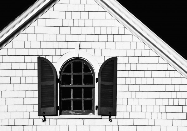 Open Shutters by Dave Therrien