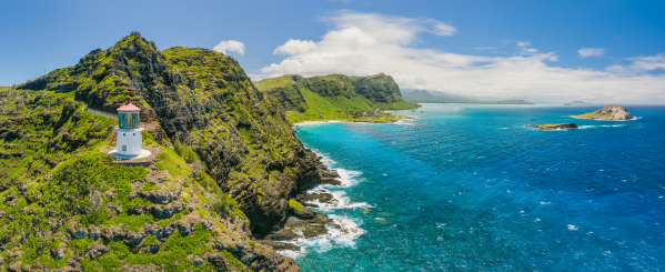 Makapuu Lighthouse 2 by Dave Tonnes