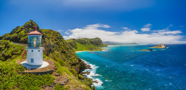 Makapuu Lighthouse by Dave Tonnes