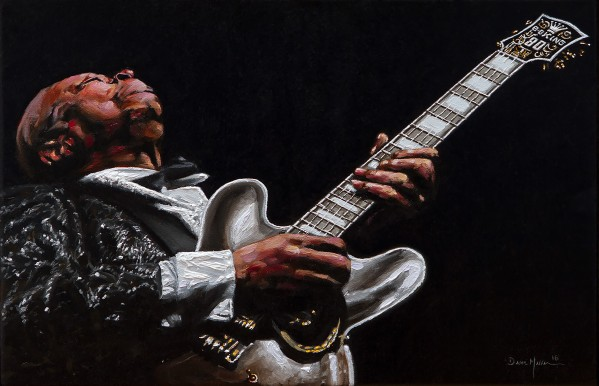 BB King by Dean Miller