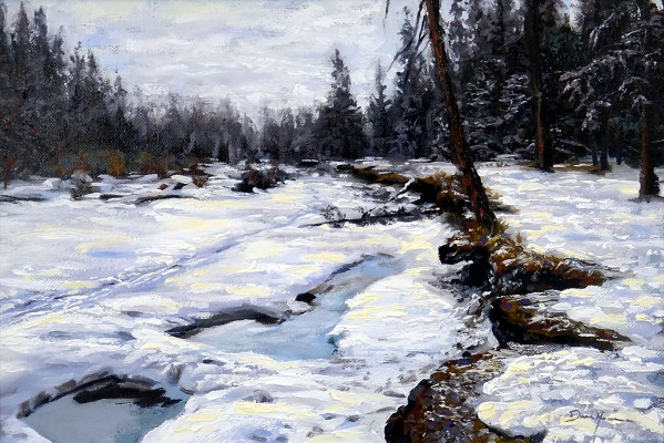 Fishcreek Winter by Dean Miller
