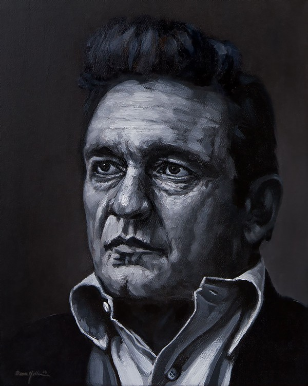 johnny cash by Dean Miller