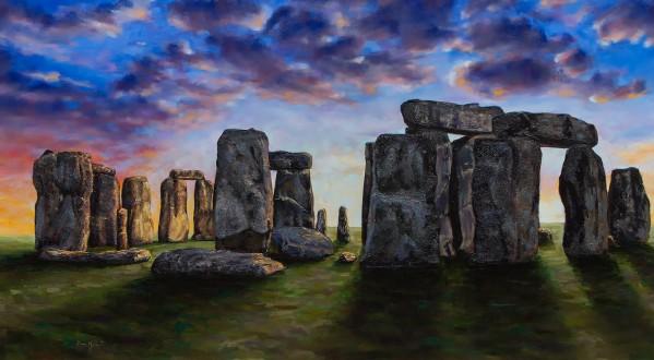stonehenge by Dean Miller