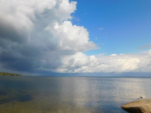 Georgian Bay  Fall 2019 by Debbie Caughey