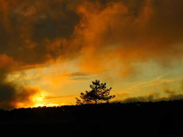 Sunset after the Storm by Debbie Caughey