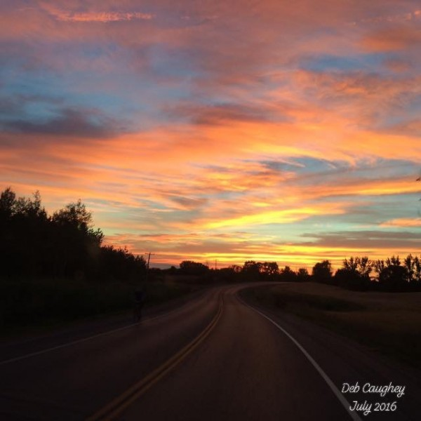 Into the Sunset by Debbie Caughey