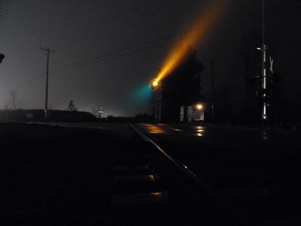 Foggy crossing by Debbie Caughey