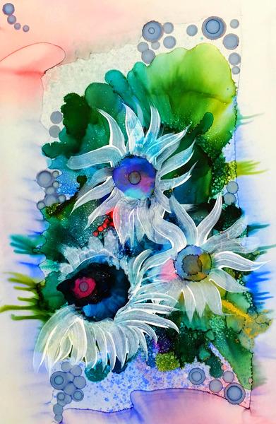 Floral Burst Téléchargement Numérique