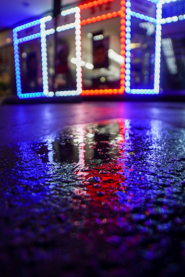 Red White and Bokeh by Depth Of Fin