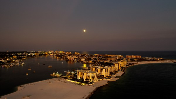 Harbor East Pass  by Destin30A Drone